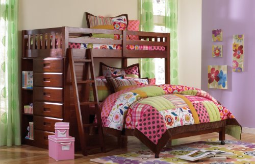 Full Bed Bunk Beds 6858 front