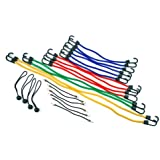 Highland (9008400) Bungee Cord Assortment Jar - 24 Piece