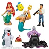 Disney Parks Little Mermaid Ariel Collectible Figurine Playset Play Set Cake Top by Disney