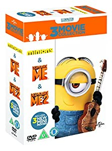 Minions Collection (Despicable Me/Despicable Me 2/Minions) [DVD]