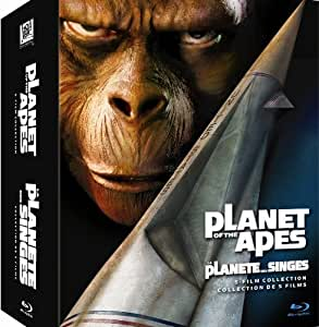 Planet of the Apes: 5-Film Collection [Blu-ray] (Bilingual)
