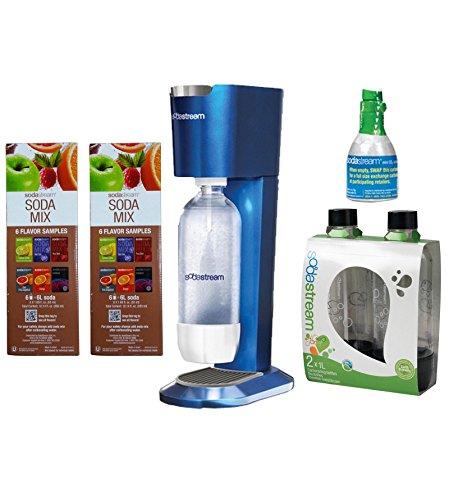 SodaStream Genesis Home Sparkling Water Maker Starter Kit w/ 12 SodaMix Samples (Genesis Soda Maker compare prices)
