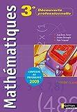 Mathématiques - 3e DP (Module 6 heures)