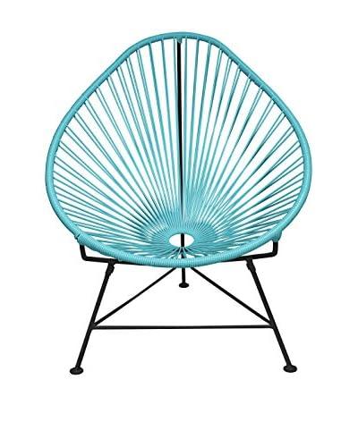 Innit Designs Acapulco Chair, Blue/Black