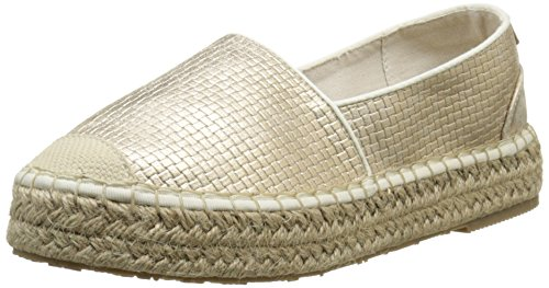 Mustang1224201 - Espadrillas Donna , Oro (Or (699 Gold)), 40