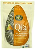 Natures Path Qia Chia Buckwheat and Hemp Cereal, Original, 7.9-Ounce