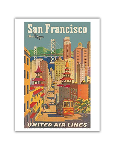 san-francisco-california-united-air-lines-cable-car-in-chinatown-vintage-airline-travel-poster-by-jo