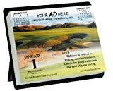 2013 Golf Hint a Day - Daily Date Desk Calendar with an Easel and a Separate Golf Tip for Each Day