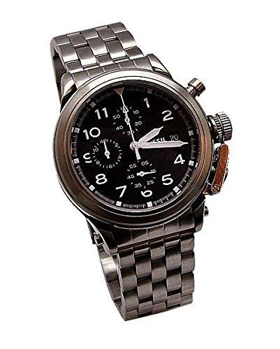 Fossil Herren-Armbanduhr Chronograph Quarz Edelstahl LE1027