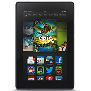 "Kindle Fire HD 7"", HD Display, Wi-Fi, 8 GB - Includes Special Offers from Amazon"