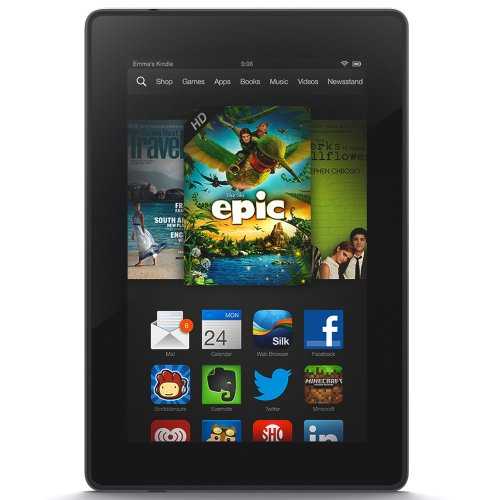 Kindle Fire HD 7″, HD Display, Wi-Fi, 8 GB