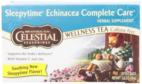 Buy Discount Celestial Seasonings Sleepytime Echinacea Complete Care, 20 Count Tea Bag