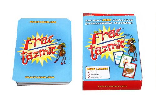 American Educational Fractazmic Fractions Card Game - 1