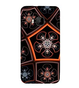 99Sublimation Animated Pattern 3D Hard Polycarbonate Back Case Cover for HTC One M9