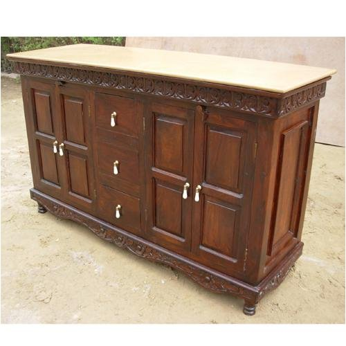Buy Low Price sierralivingconcepts Buffet Cabinet Solid Wood Storage Chest Tv Stand Plasma Table (B0013N4SCE)