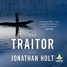 The Traitor (       UNABRIDGED) by Jonathan Holt Narrated by Michael Fenner