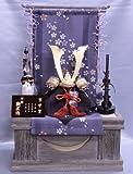 【新作】【五月人形】兜収納台飾り【武久】朱赤【10号】几帳神代塗り桐k11s3【兜飾り】