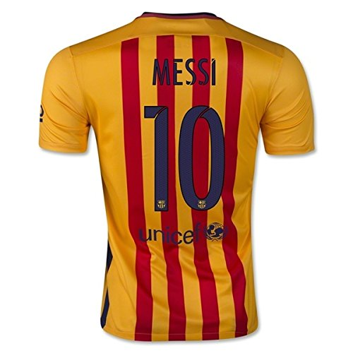 on sale 0ae77 c6376 Messi #10 Barcelona Away Kids Soccer Jersey Kit with Free ...
