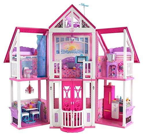 Mattel Barbie W3141 - BarbieTraumhaus mit viel Zubehör