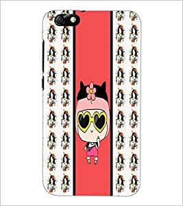 PrintDhaba Funny Image D-3823 Back Case Cover for HUAWEI HONOR 4X (Multi-Coloured)