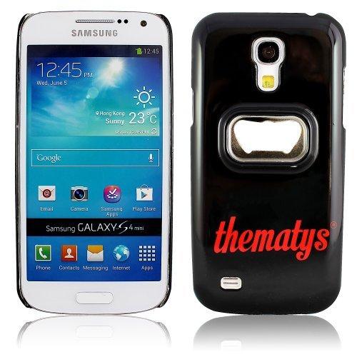 Samsung Galaxy S4 mini i9190 i9195 Original thematys® FLASCHENÖFFNER Bier Design Case Schutz-Hülle Cover Schale Etui handyhülle thematys®