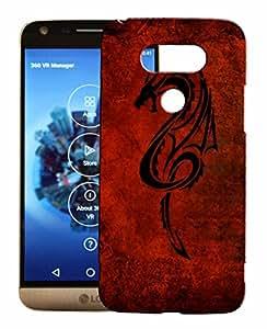 Toppings 3D Printed Designer Hard Back Cover For LG G5 Design-10111