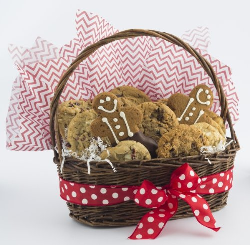 Holiday Christmas Cookies Galore Gift Basket