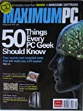 img - for Maximum PC, April 2009 (CD inside includes more than 500 MB of AWESOME SOFTWARE) book / textbook / text book