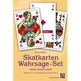 Das Skatkarten-Wahrsage-Set nach Lenormand: Skatkarten mit Deutungstext und Anleitungsbuch