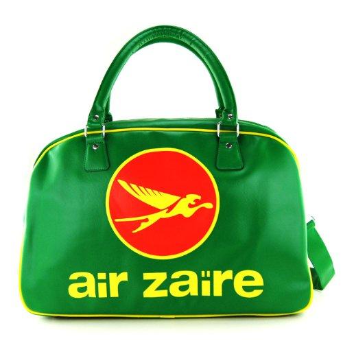 AIR ZAIRE große Retro Umhängetasche Tasche