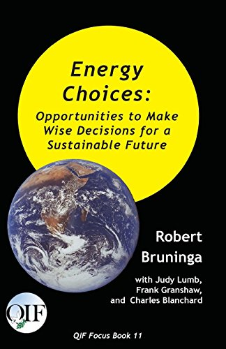 Energy Choices: Opportunities to Make Wise Decisions for a Sustainable Future (Qif Focus Books) [Bruninga, Robert - Granshaw, Frank - Blanchard, Charles] (Tapa Blanda)