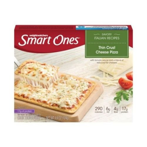 Smart Ones Thin Crust Cheese Pizza, 4.4 Ounce -- 12 per case. (Frozen Cheese Pizza compare prices)