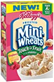 Kelloggs Frosted Mini Wheats Touch of Raspberry, 15-Ounce
