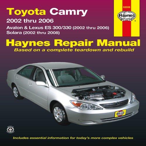 toyota-camry-avalon-lexus-es-300-330-2002-thru-2006-solara-2002-thru-2008-haines-repair-manula