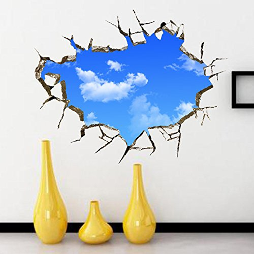 [Fantastic 3D Removable Wall Stickers Home Room Vinyl Mural DIY Art Decor 19