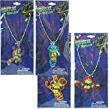 Teenage Mutant Ninja Turtles TMNT necklace - set of 4