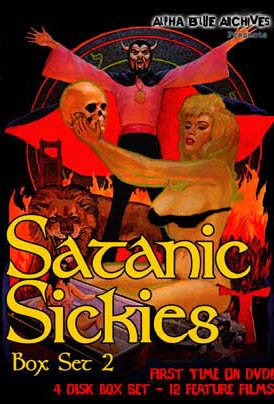Satanic Sickies Volume DVDs Films