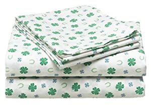 tommy hilfiger lucky charms 100 cotton extra long twin sheet set old pattern home. Black Bedroom Furniture Sets. Home Design Ideas