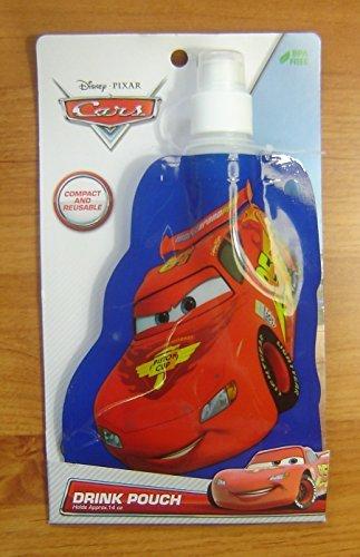 Disney Pixar Cars Drink Pouch 14oz