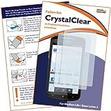2 x mumbi Displayschutzfolie Medion Life P4310 / Base Lutea 2 / ZTE Skate Displayschutz CrystalClear unsichtbar