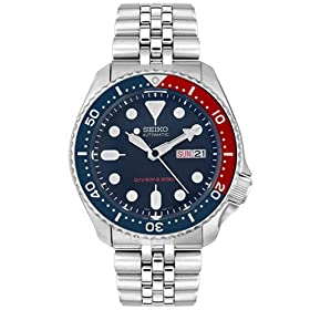 Seiko Men's Diver's Automatic Blue Dial Watch #SKX009K2