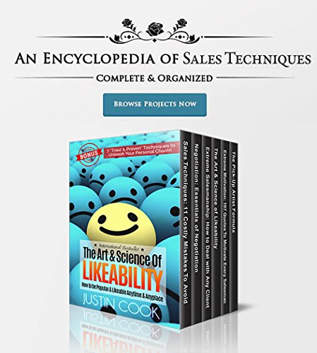 An Encyclopedia Of Sales Techniques by Justin Cook ebook deal