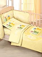 Anne Geddes Quilt Lettino Con Paracolpi Woolbaby T (Amarillo)