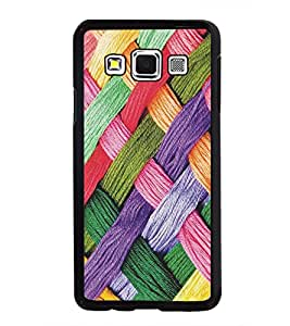 PRINTSWAG COLORFULL WOOL Designer Back Cover Case for SAMSUNG GALAXY A3