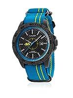 VR46 Valentino Rossi VR1 by TW Steel Reloj con movimiento Miyota Vr12 Azul / Amarillo 45  mm