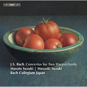 J.S. Bach: Concertos for 2 Harpsichords