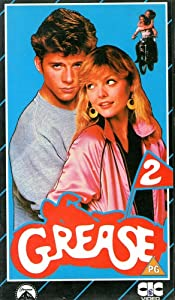 grease 2 vhs michelle pfeiffer maxwell caulfield
