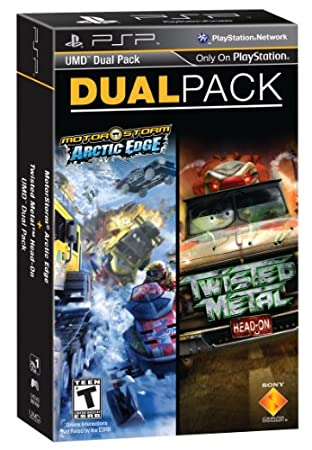 PSP Dual Pack - MotorStrom: Arctic Edge and Twisted Metal: Head On