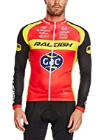 MOA FOR PROFI TEAMS Maillot Ciclismo Raleigh (Rojo / Negro)