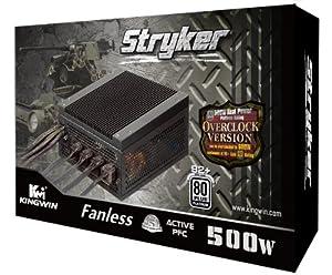 KingWin Stryker 500-Watt ATX 500 Fanless Power Supply STR-500
